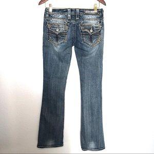 Rock Revival Holly Bootcut Flap Pocket Jeans